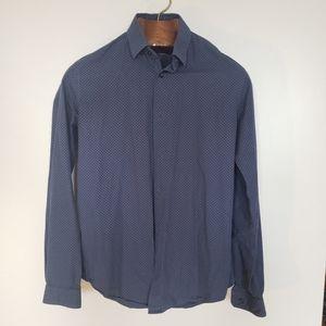 Zara Man // slim fit button down collared shirt